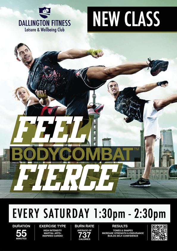 2014 05 24 class timetable notice - Body Combat